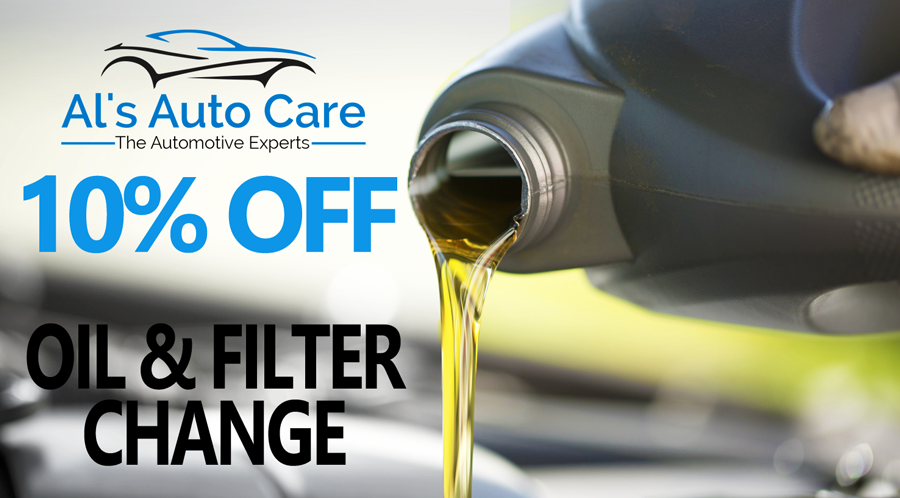 Al's Auto Care 10% off Oil Change Coupon